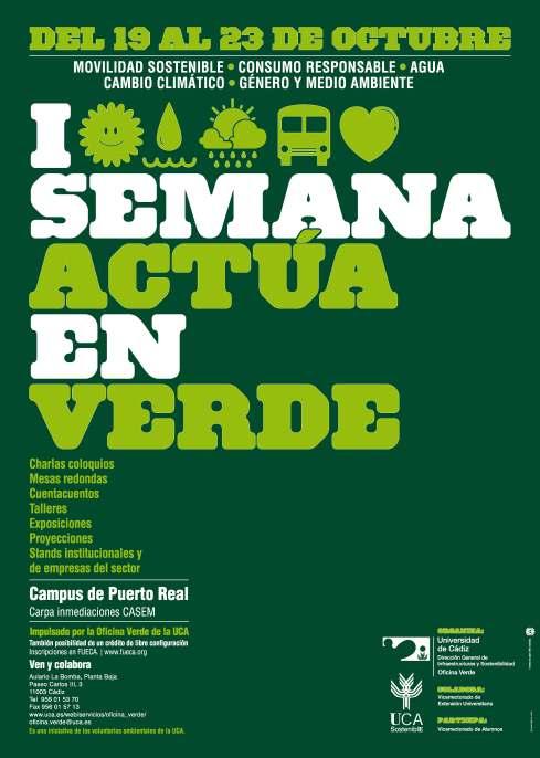 Actua en Verde